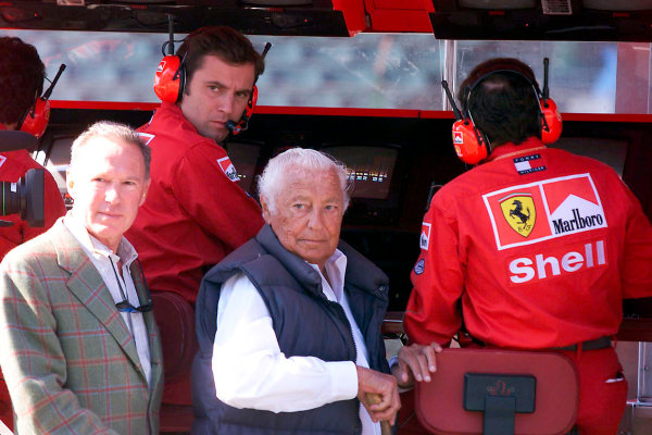 Gianni Agnelli 1922 - 2003Gianni Agnelli, here seen at the 1999 Hungarian Grand Prix.World Copyright: Photo4/LAT Photographicref: Digital Image Only