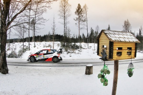 Jari-Matti Latvala (FIN) / Miikka Anttila (FIN), Toyota Gazoo Racing Toyota Yaris WRC at World Rally Championship, Rd2, Rally Sweden, Day One, Karlstad, Sweden, 10 February 2017.
