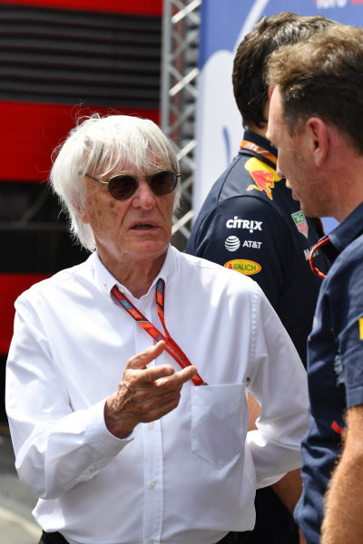 Bernie Ecclestone (GBR) at Formula One World Championship, Rd9, Austrian Grand Prix, Qualifying, Spielberg, Austria, Saturday 8 July 2017.