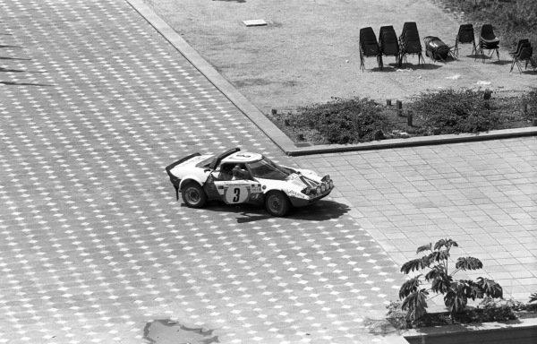 Sandro Munari / Lofty Drews, Lancia Stratos HF.