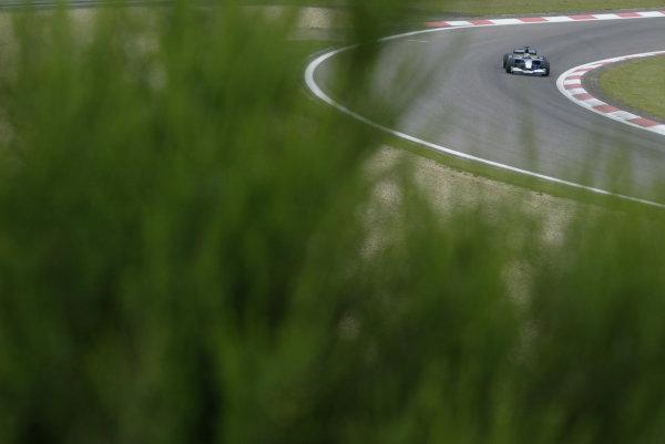 2002 European Grand Prix - Friday PracticeNurburgring, Germany. 21st June 2002.Felipe Massa, Sauber Petronas C21, action.World Copyright: LAT Photographic.ref: Digital Image Only