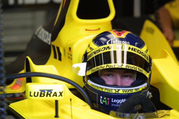 2001 Austrian Grand Prix.A1-Ring, Zeltweg, Austria.11-13 May 2001.Heinz-Harald Frentzen (Jordan Honda).World Copyright - LAT Photographicref: 8 9 MB Digital