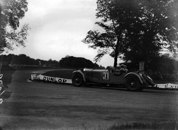 Earl Howe, Mercedes-Benz SS.