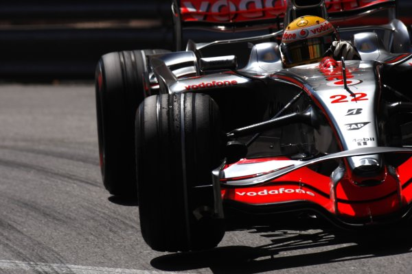2008 Monaco Grand Prix - ThursdayMonte Carlo, Monaco.22nd May 2008.Lewis Hamilton, McLaren MP4-23 Mercedes. Action. World Copyright: Glenn Dunbar/LAT Photographic.ref: Digital Image _O9T5047