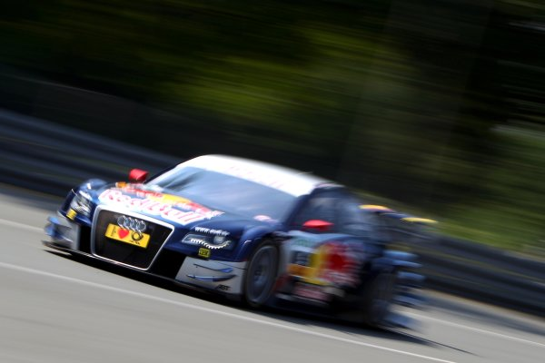 Mattias Ekstrom (SWE), Audi Sport Team Abt Sportsline, Red Bull Audi A4 DTM (2009).DTM, Rd4, Norisring, Nuremberg, Germany. 2-4 July 2010 World Copyright: LAT PhotographicRef: Digital Image dne1003jy31