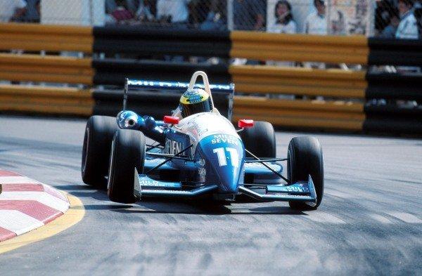 Ralf Schumacher (GER) won the raceFormula 3 Macau Grand Prix - Macau, Hong Kong - 19 November 1995