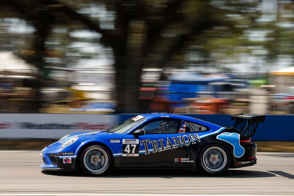 2017 Porsche GT3 Cup USA Sebring International Raceway, Sebring, FL USA Friday 17 March 2017 47, Andrew Longe, GT3P, USA, 2017 Porsche 991 World Copyright: Jake Galstad/LAT Images ref: Digital Image lat-galstad-SIR-0317-14689