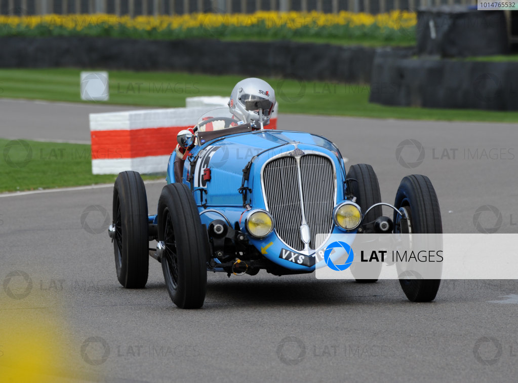 2017 75th Members Meeting Goodwood Estate, West Sussex,England 18th - 19th March 2017 Varzi Trophy Tourneur Delahaye World Copyright : Jeff Bloxham/LAT Images Ref : Digital Image