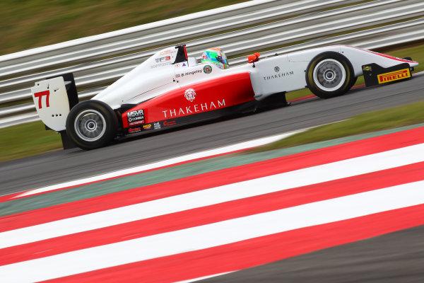 2017 BRDC British Formula 3 Championship, Snetterton, 27th-28th May 2017, Ben Hingeley (GBR) Fortec Motorsports BRDC F3 World copyright. JEP/LAT Images