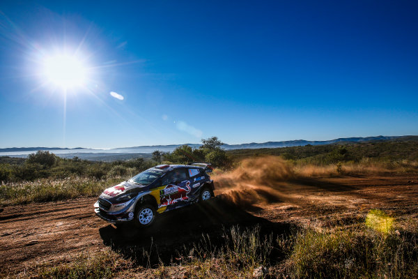 2017 FIA World Rally Championship, Round 05, Rally Argentina, April 27-30, 2017, Sebastien Ogier, Ford, Action, Worldwide Copyright: McKlein/LAT