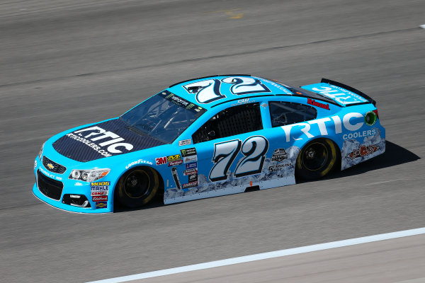 Monster Energy NASCAR Cup Series Go Bowling 400 Kansas Speedway, Kansas City, KS USA Friday 12 May 2017 Cole Whitt, TriStar Motorsports, RTIC Coolers Chevrolet SS World Copyright: Barry Cantrell LAT Images ref: Digital Image 17KAN1bc1101