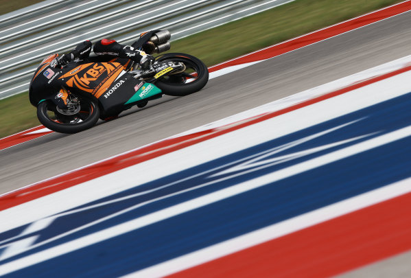 2017 Moto3 Championship - Round 3 Circuit of the Americas, Austin, Texas, USA Friday 21 April 2017 Adam Norrodin, SIC Racing Team World Copyright: Gold and Goose Photography/LAT Images ref: Digital Image Moto3-500-1505