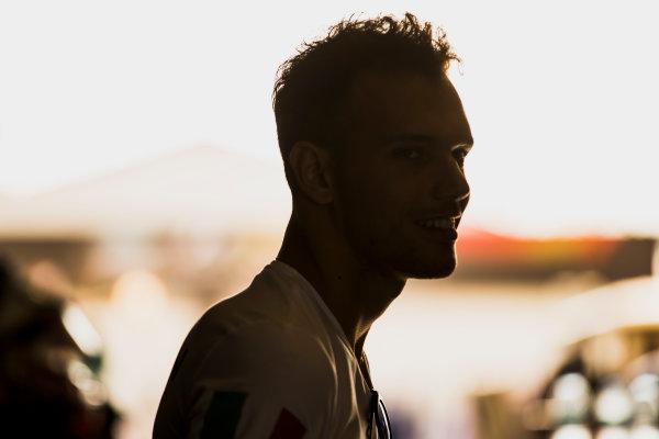 2017 FIA Formula 2 Round 11. Yas Marina Circuit, Abu Dhabi, United Arab Emirates. Thursday 23 November 2017. Luca Ghiotto (ITA, RUSSIAN TIME).  Photo: Zak Mauger/FIA Formula 2. ref: Digital Image _56I8690