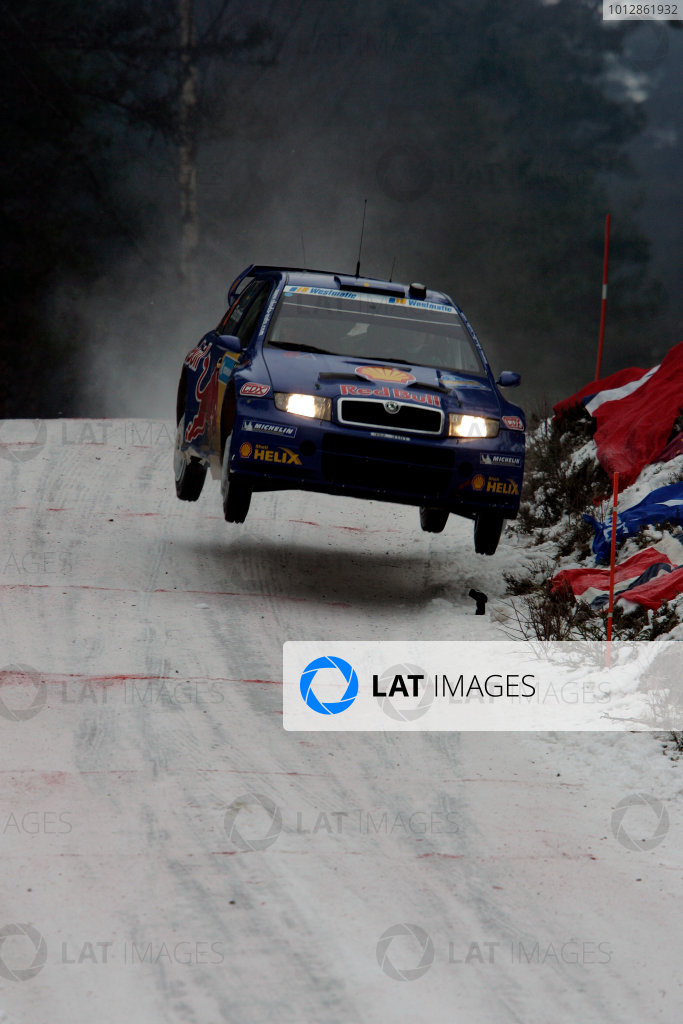 2005 FIA World Rally Champs. Round two