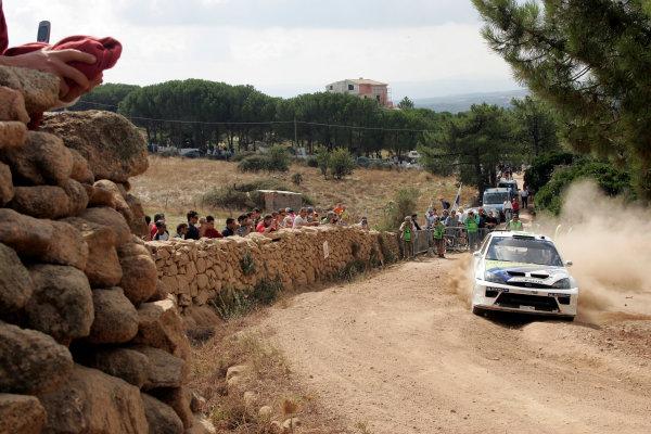 2004 FIA World Rally Champs. Round thirteen, Rally Italia Sardinia.30th September - 3rd October 2004.Francois Duval, Ford, actionWorld Copyright: McKlein/LAT