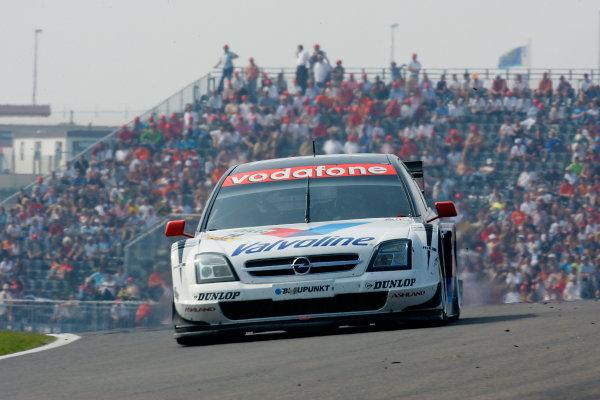 2004 DTM ChampionshipZandvoort, Netherlands. 4th - 5th September.Peter Dumbreck (OPC Phoenix Opel Vectra GTS). Action.World Copyright: Andre Irlmeier/LAT Photographicref: Digital Image Only
