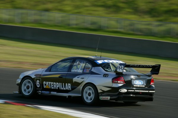 V8 Supercar Round 3 Eastern Creek, Australia 3rd May 2003: Ford driver Craig Lowndes in action for tomorrows 300km race at Eastern Creek west of Sydney.World Copyright - Horsburgh/LAT Photographic