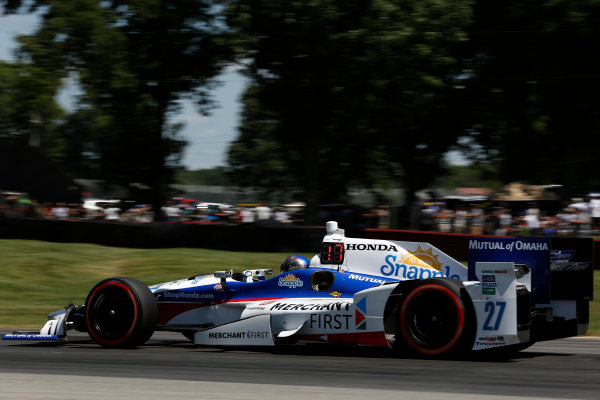31 July - 2 August, 2015, Lexington, Ohio USA Marco Andretti ?2015, Phillip Abbott LAT Photo USA