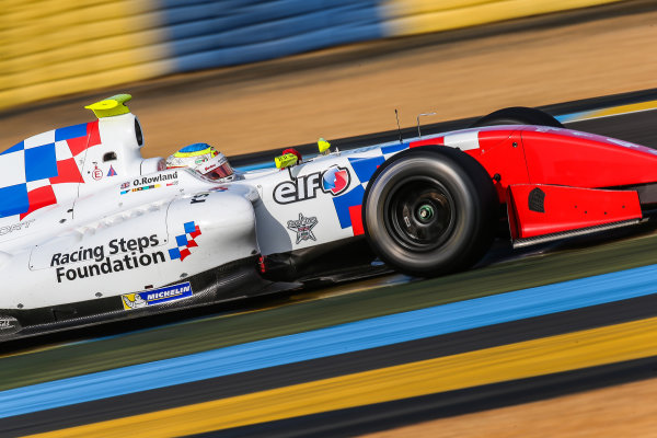 Le Mans (FRA) SEPT 25-27 2015 - World Series by Renault 2015 at the Bugatti circuit of Le Mans. Oliver Rowland #4 Fortec. Action. © 2015 Diederik van der Laan  / Dutch Photo Agency / LAT Photographic