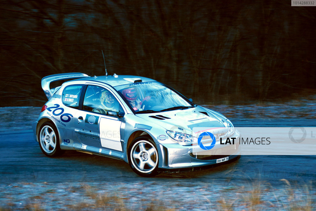 2001 World Rally Testing