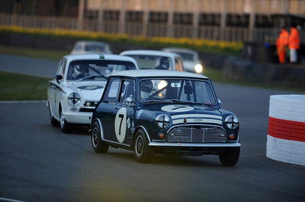 2016 74th Members Meeting Goodwood Estate, West Sussex,England 19th - 20th March 2016 Race 11 Whitmore Cup Charlie Settrington Mini World Copyright : Jeff Bloxham/LAT Photographic Ref : Digital Image