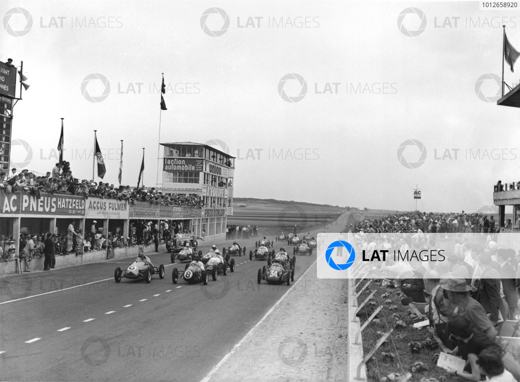 Reims-Gueux, France. 2nd July 1950.