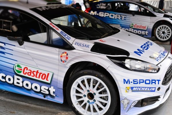 www.sutton-images.com -  M-Sport Ford Fiesta RS WRC at the FIA World Rally Championship, Rd1, Rally Monte Carlo, Preparatons and Shakedown, Monte Carlo, 22 January 2015. Photo Sutton Images