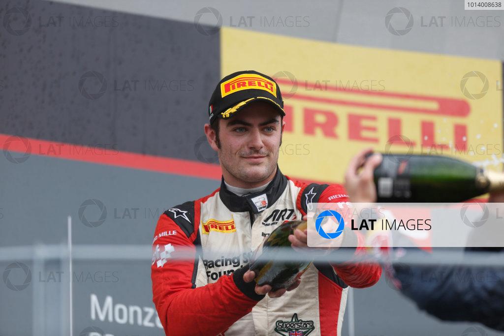 2013 GP3 Series. Round 7.  Autodromo di Monza, Monza, Italy. 8th September.  Sunday Race. Jack Harvey (GBR, ART Grand Prix) World Copyright: Andrew Ferraro/GP3 Media Service. ref: Digital Image _79P2882.JPG
