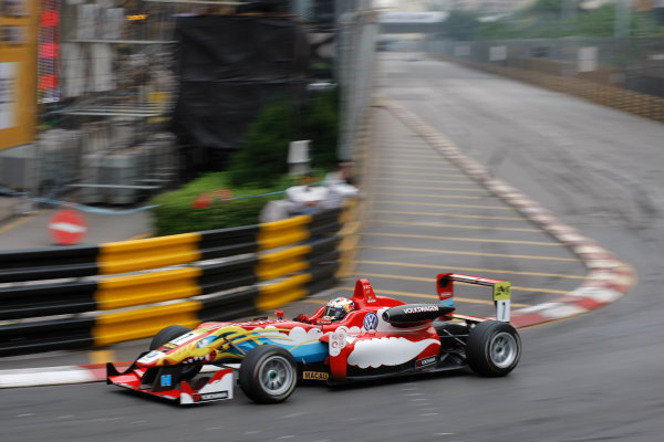 2012 Macau Grand Prix. Circuit de Guia, Macau. 15th - 18th November 2012. Antonio Da Costa (POR) Carlin Dallara Volkswagen. World Copyright: Ebrey/LAT Photographic.