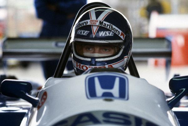 Jonathan Palmer (GBR) Ralt Racing. European Formula Two Championship, 1983.