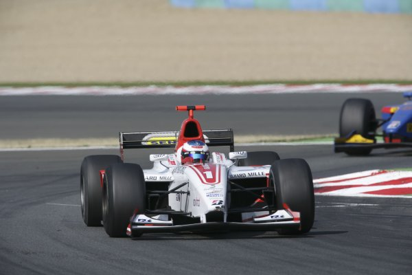 2006 GP2 Series. Round 7 . Magny-Cours, France. 16th July.Sunday Race Alexandre Premat (FRA, ART Grand Prix). Action.  World Copyright: Charles CoatesGP2 Series Media Service. ref: Digital Image ZK5Y9411
