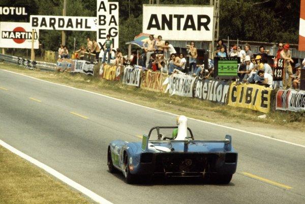 1974 Le Mans 24 hours.Le Mans, France. 15-16 June 1974.Henri Pescarolo/Gerard Larrousse (Matra-Simca MS670B), 1st position.World Copyright: LAT PhotographicRef: 35mm transparency 74LM10