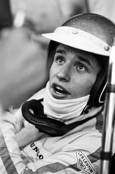 Jacky Ickx, Cooper T81B Maserati, making his Grand Prix debut.