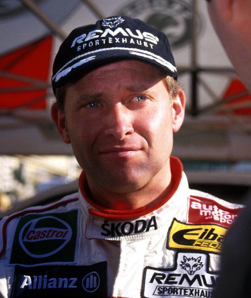 2001 World Rally Championship. Monte Carlo Rally,  Monaco. 18th -21st January 2001. Rd 1. Armin Schwarz, portrait.  World Copyright: Ralph Hardwick/ LAT Photographic. Ref: Armin2