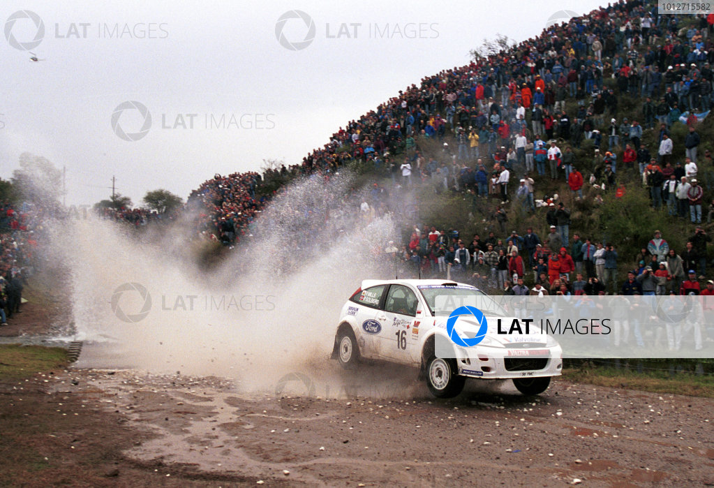 Argentina 2000 - Petter Solberg Ford Focus - action