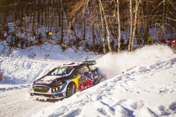 Sebastien Ogier (FRA) / Julien Ingrassia (FRA), M-Sport World Rally Team Ford Fiesta WRC at FIA World Rally Championship, Rd1, Rally Monte Carlo, Day Two, Monte Carlo, Monaco, 21 January 2017.