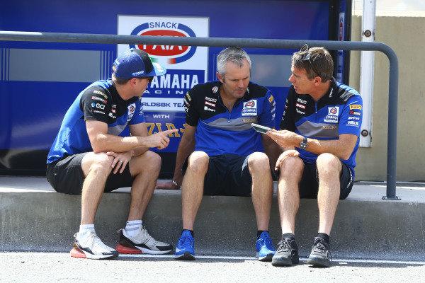 Alex Lowes, Pata Yamaha, Andrew Pitt, Paul Denning.