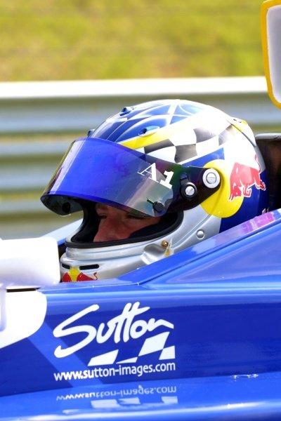 Reinhard Kofler AUT) Red Bull Junior.Formula BMW ADAC, Sachsenring Germany. 2 June 2002.PRESS