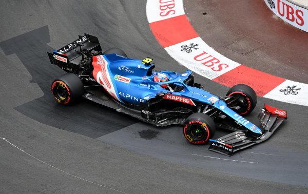 Monaco F1 GP, Esteban Ocon, Alpine A521
