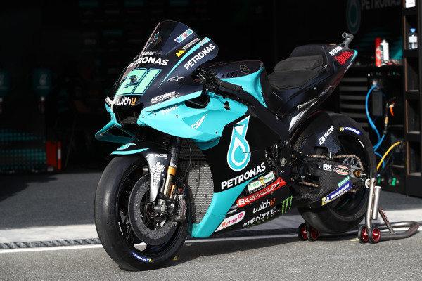 Bike of Franco Morbidelli, Petronas Yamaha SRT.