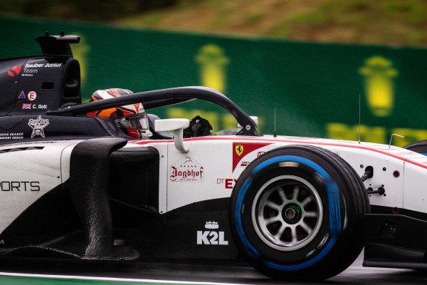 HUNGARORING, HUNGARY - AUGUST 02: Callum Ilott (GBR, SAUBER JUNIOR TEAM BY CHAROUZ) during the Hungaroring at Hungaroring on August 02, 2019 in Hungaroring, Hungary. (Photo by Joe Portlock / LAT Images / FIA F2 Championship)