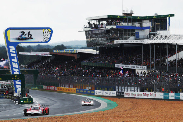 #708 Glickenhaus Racing Glickenhaus 007 LMH Hypercar of Luis Felipe Derani, Franck Mailleux, Olivier Pla