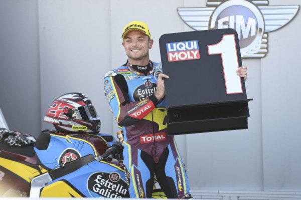 Polesitter Sam Lowes, Marc VDS Racing.