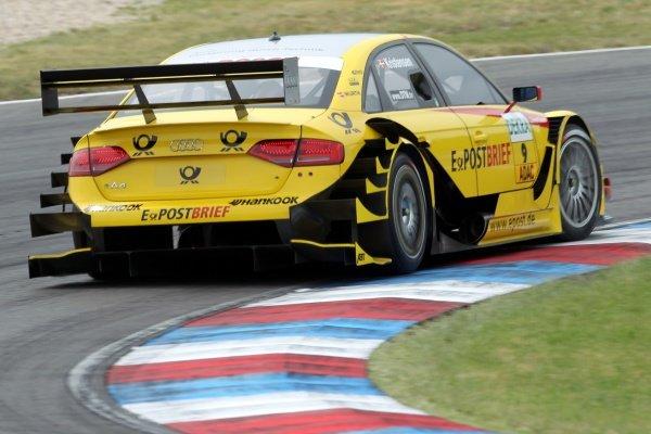 Tom Kristensen (DEN), Audi Sport Team Abt Sportsline.DTM, Rd4, Eurospeedway Lausitz, Germany, 18-19 June 2011.