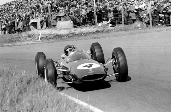 Jim Clark (GBR) Lotus 25 Climax Dutch GP, Zandvoort, 20th May 1962