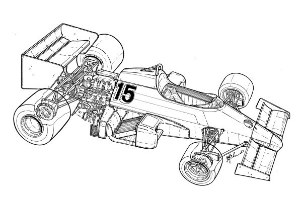Renault RE40 1983 detailed overview