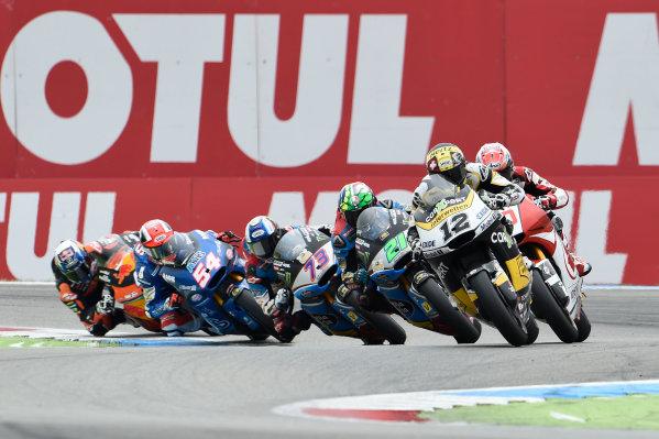 2017 Moto2 Championship - Round 8 Assen, Netherlands Sunday 25 June 2017 Thomas Luthi, CarXpert Interwetten World Copyright: Gareth Harford/LAT Images ref: Digital Image 680553