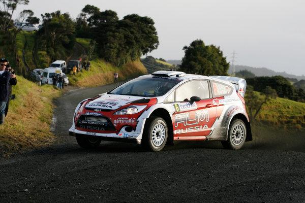 Round 7, Rally New Zealand, 21st-24th June 2012 Evgeny Novikov, Ford Fiesta, Action. Worldwide Copyright: McKlein/LAT Photographic.