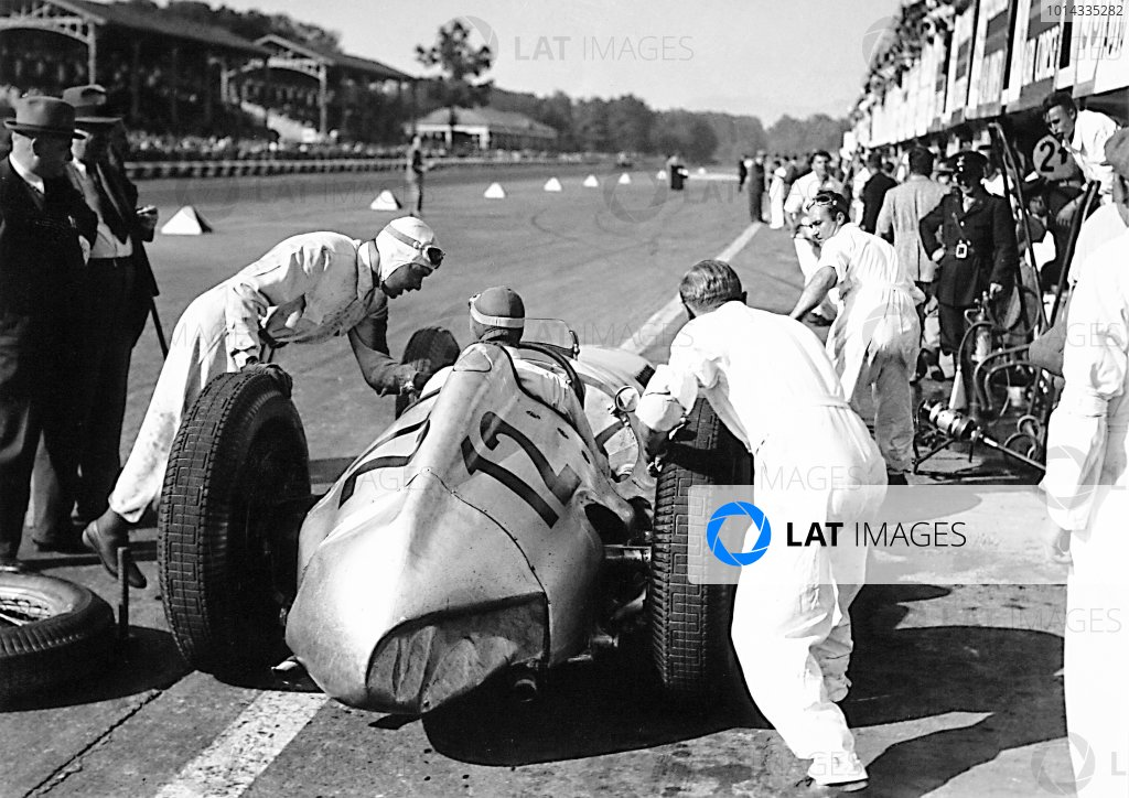 1938 Italian Grand Prix.
