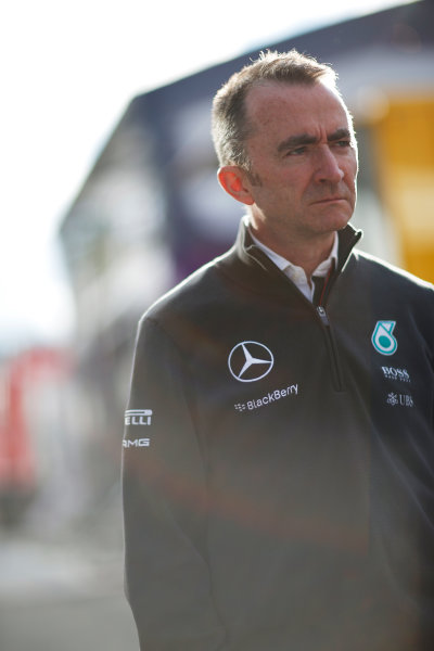 Red Bull Ring, Spielberg, Austria. Friday 19 June 2015. Paddy Lowe, Executive Director (Technical), Mercedes AMG. World Copyright: Alastair Staley/LAT Photographic. ref: Digital Image _R6T0823